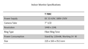 t-709c-indoor-monitor