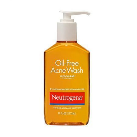 Neutrogena Oil-Free Acne Wash Salicylic Acid Acne Treatment All Market BD