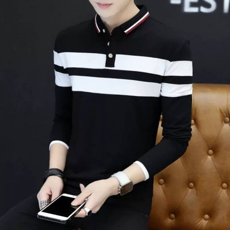 Men's Full Sleeves Polo Shirt All Market BD