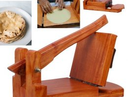 Wooden ruti maker